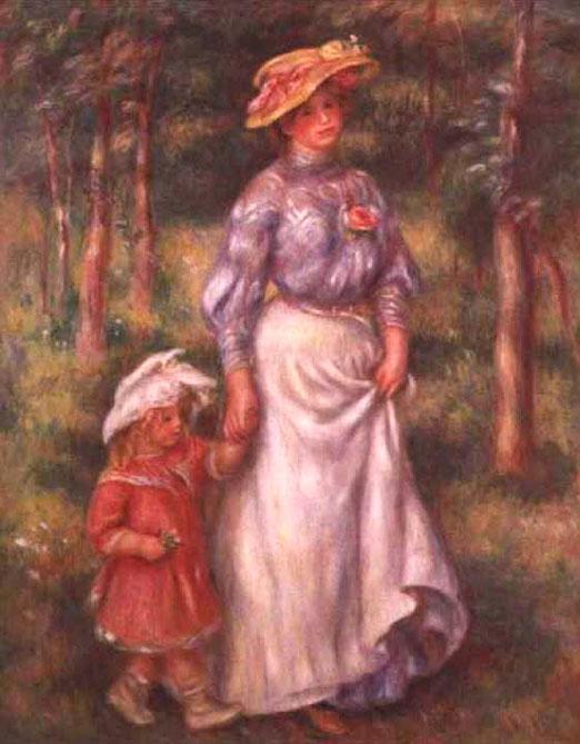 La promenade - Renoir