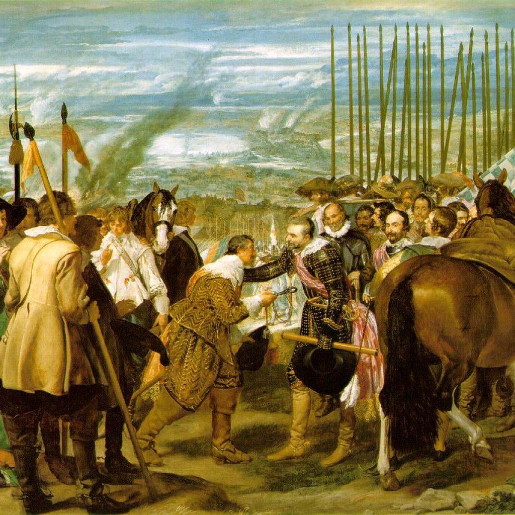 La rédition de Breda - Velazquez