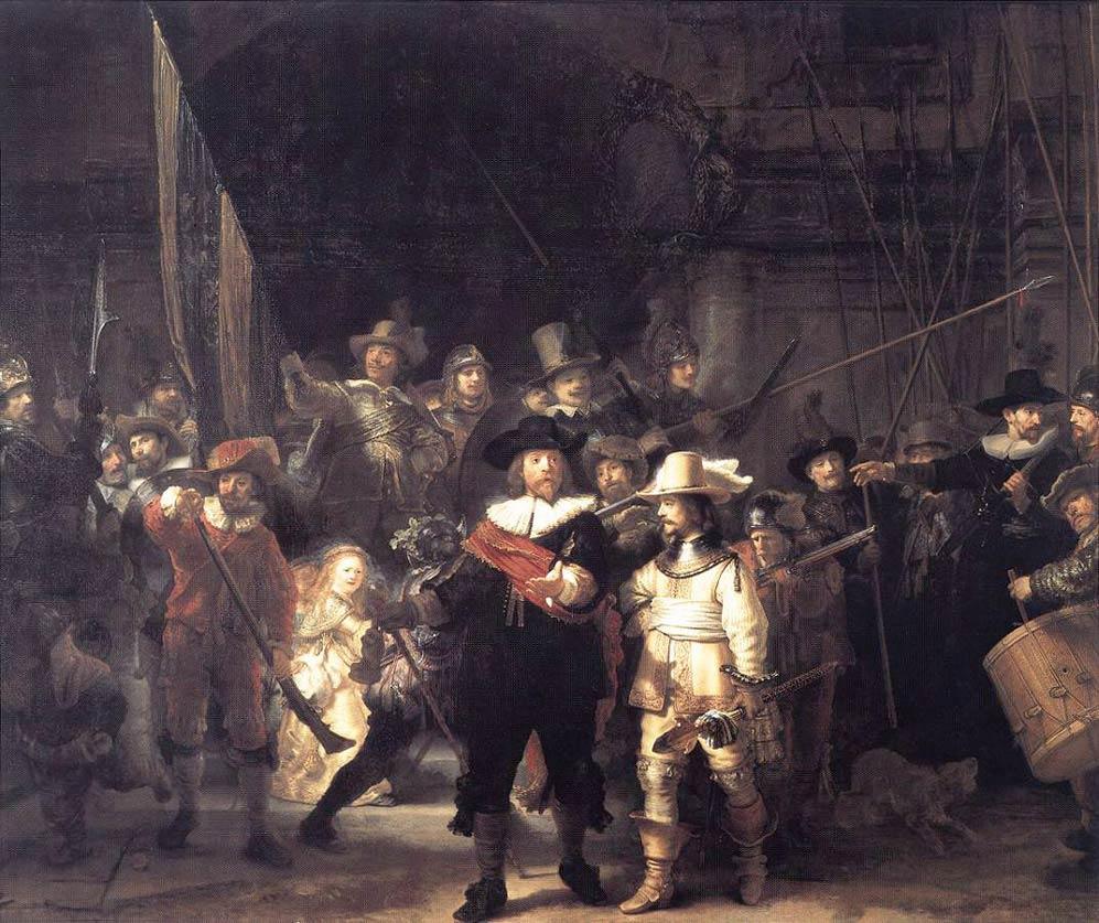 La ronde de nuit - Rembrandt