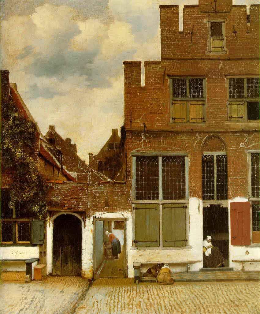 La ruelle - Vermeer