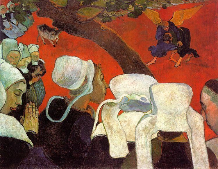 La vision après le sermon - Gauguin
