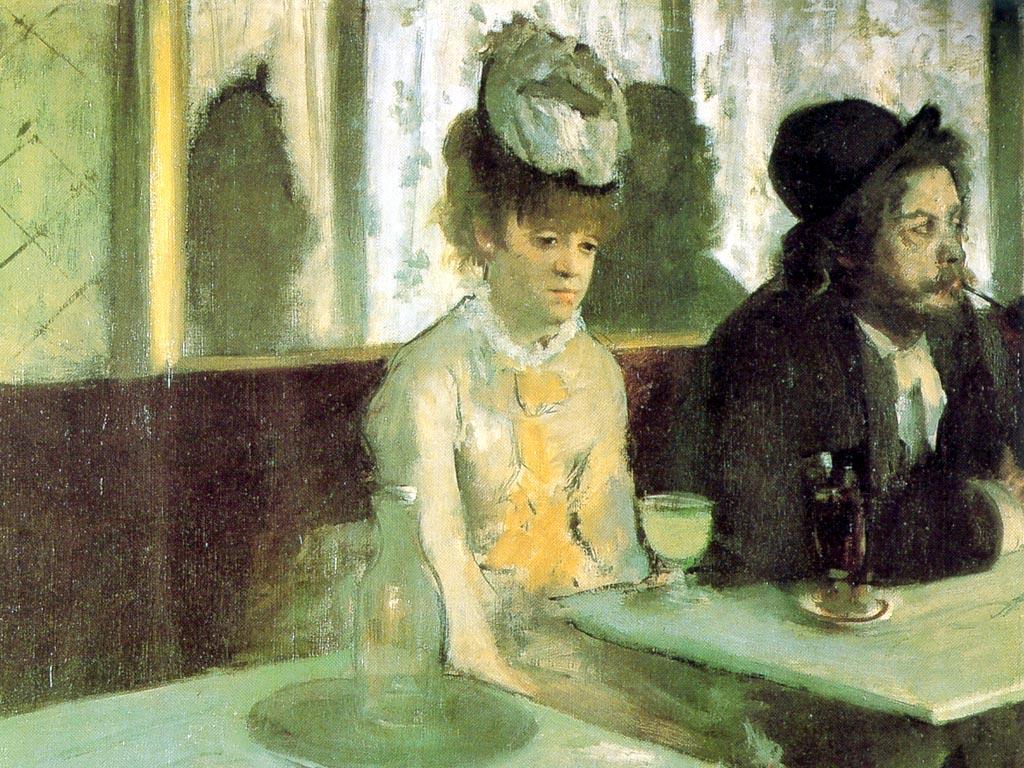 L'absinthe - Degas
