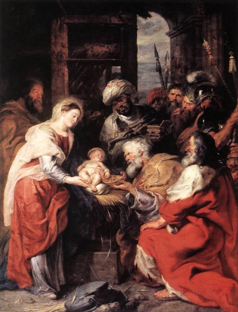 L'adoration des Mages - Rubens