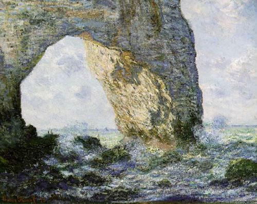 L'arche d'Etretat - Monet