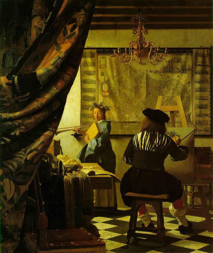 L'art de la peinture - Vermeer