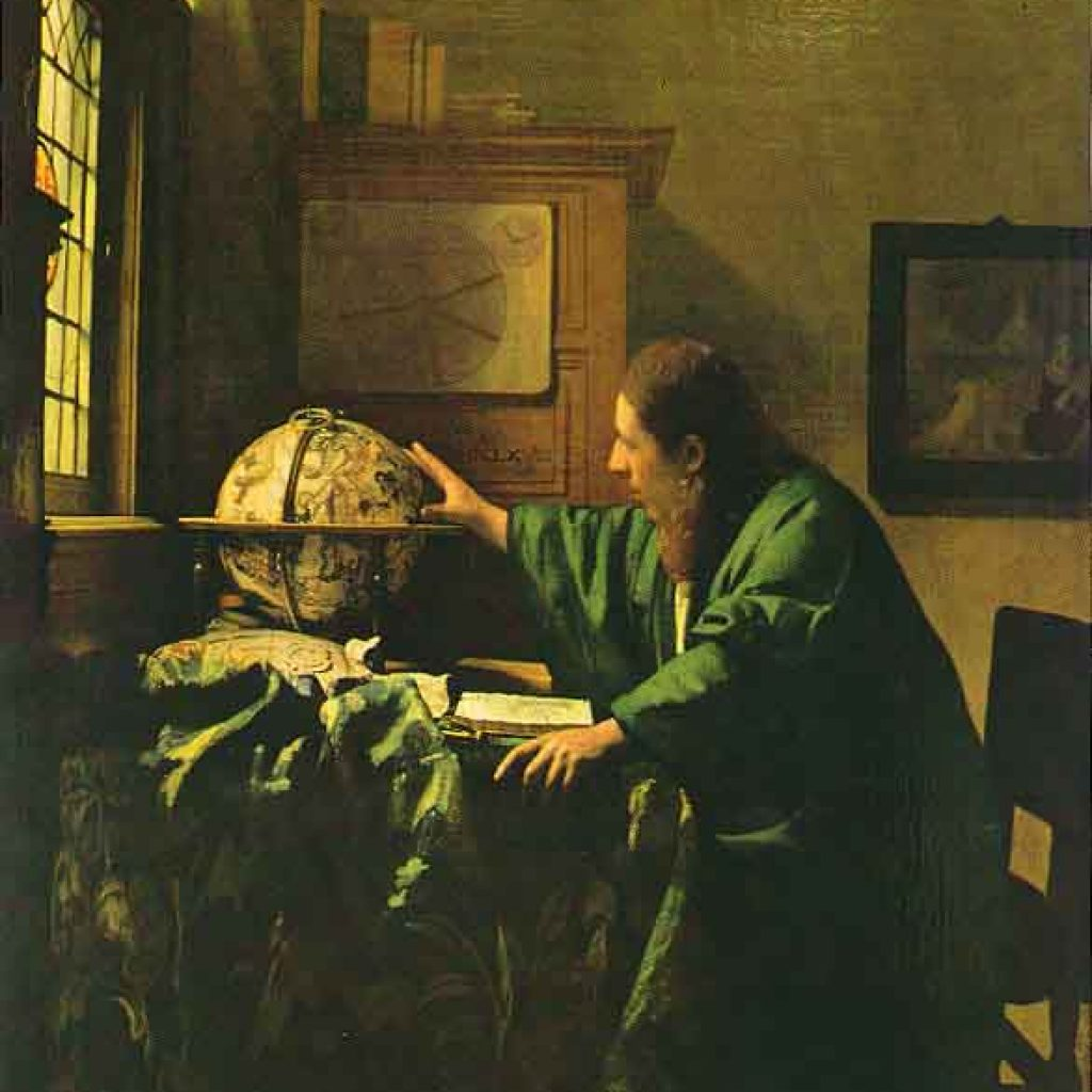 L'astronome - Vermeer