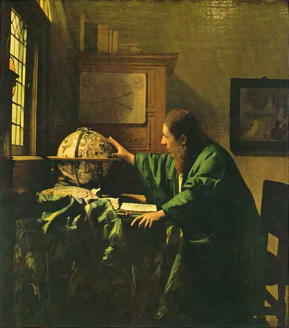 L'astronome - Vermeer