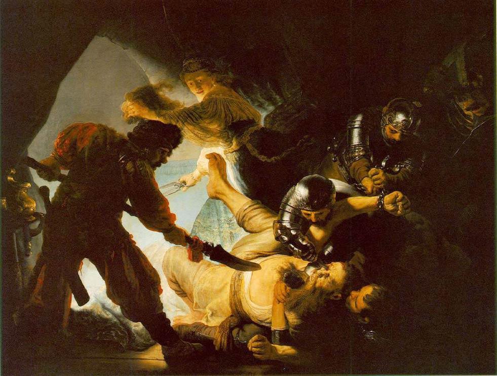 L'aveuglement de Samson - Rembrandt