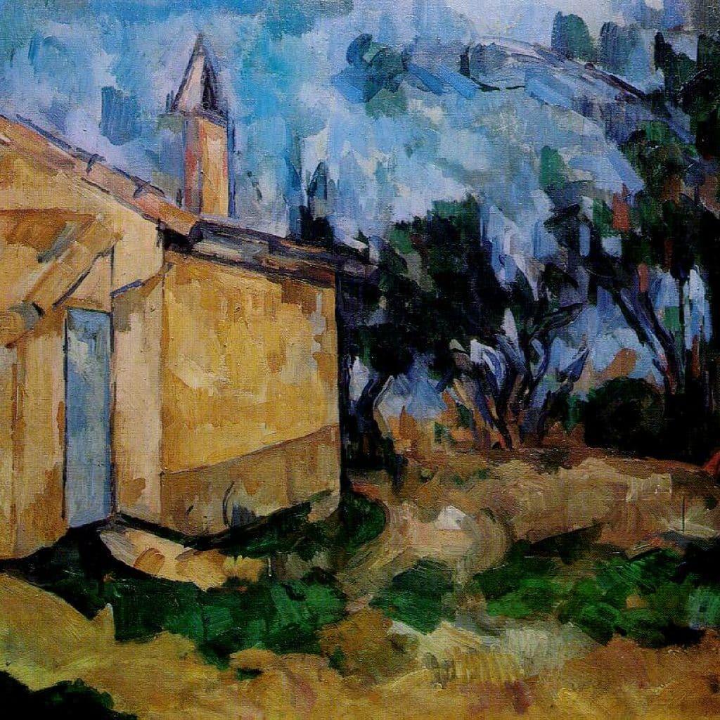 Le Cabanon de Jourdan - Cézanne