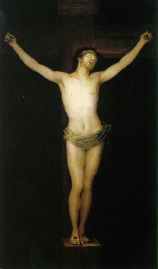 Le Christ crucifié - Goya