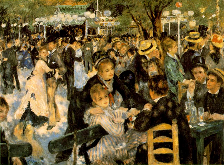 Le Moulin de la Galette - Renoir