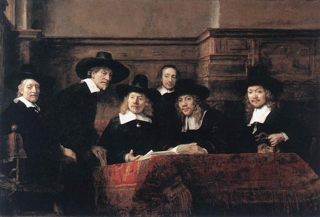 Le Syndic de la guilde des drapiers - Rembrandt