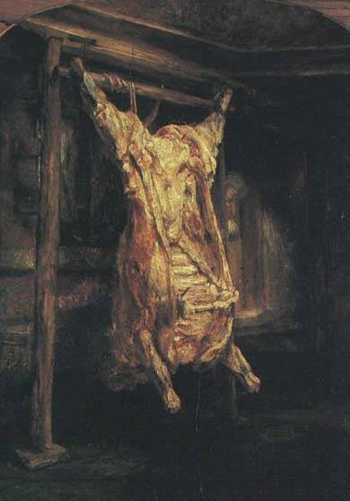 Le bœuf écorché - Rembrandt