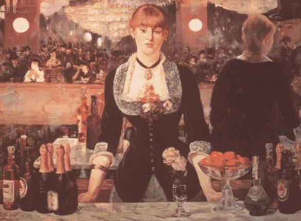 Le bar aux Folies-Bergère - Manet