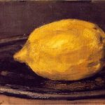 Le citron - Manet