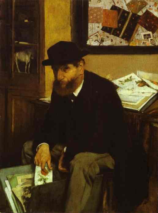 Le collectionneur - Degas