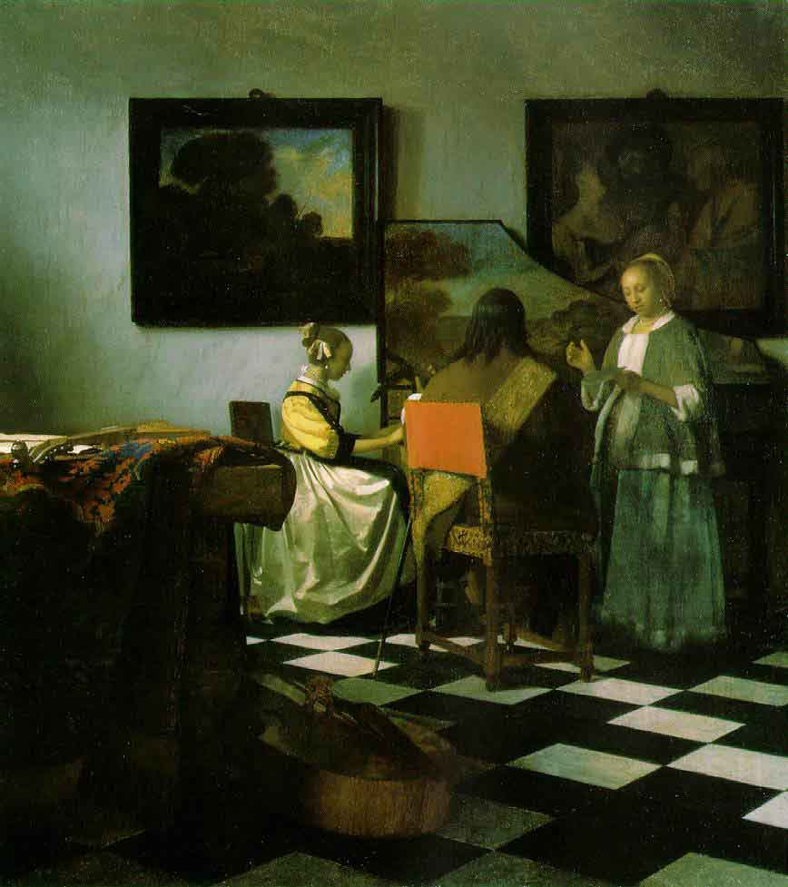 Le concert - Vermeer