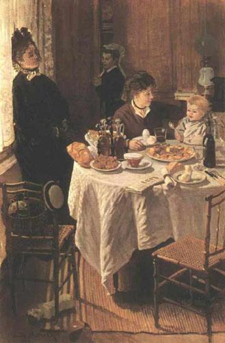 Le déjeuner - Monet