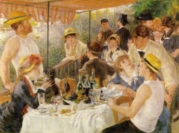 Le déjeuner des canotiers - Renoir