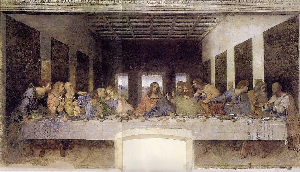 Le dernier souper - De Vinci