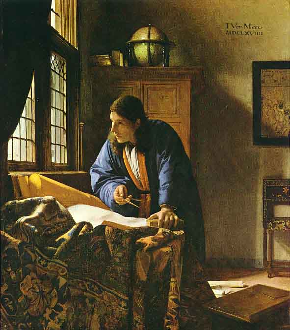 Le géographe - Vermeer