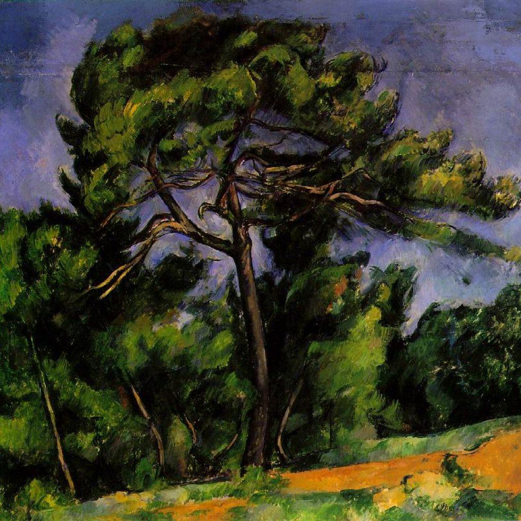 Le grand pin - Cézanne