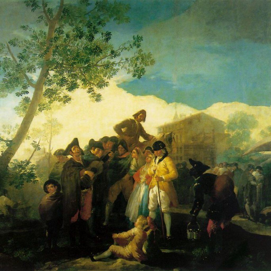 Le guitariste aveugle - Goya