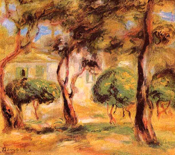 Le jardin des Collettes - Renoir