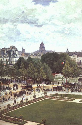 Le jardin des princesses - Monet