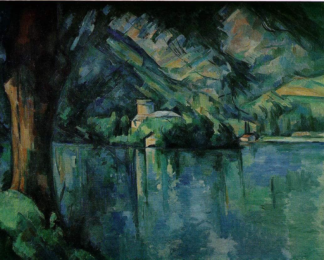 Le lac d'Annecy - Cézanne