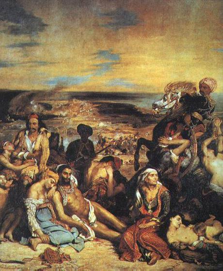 Le massacre de Scio - Delacroix