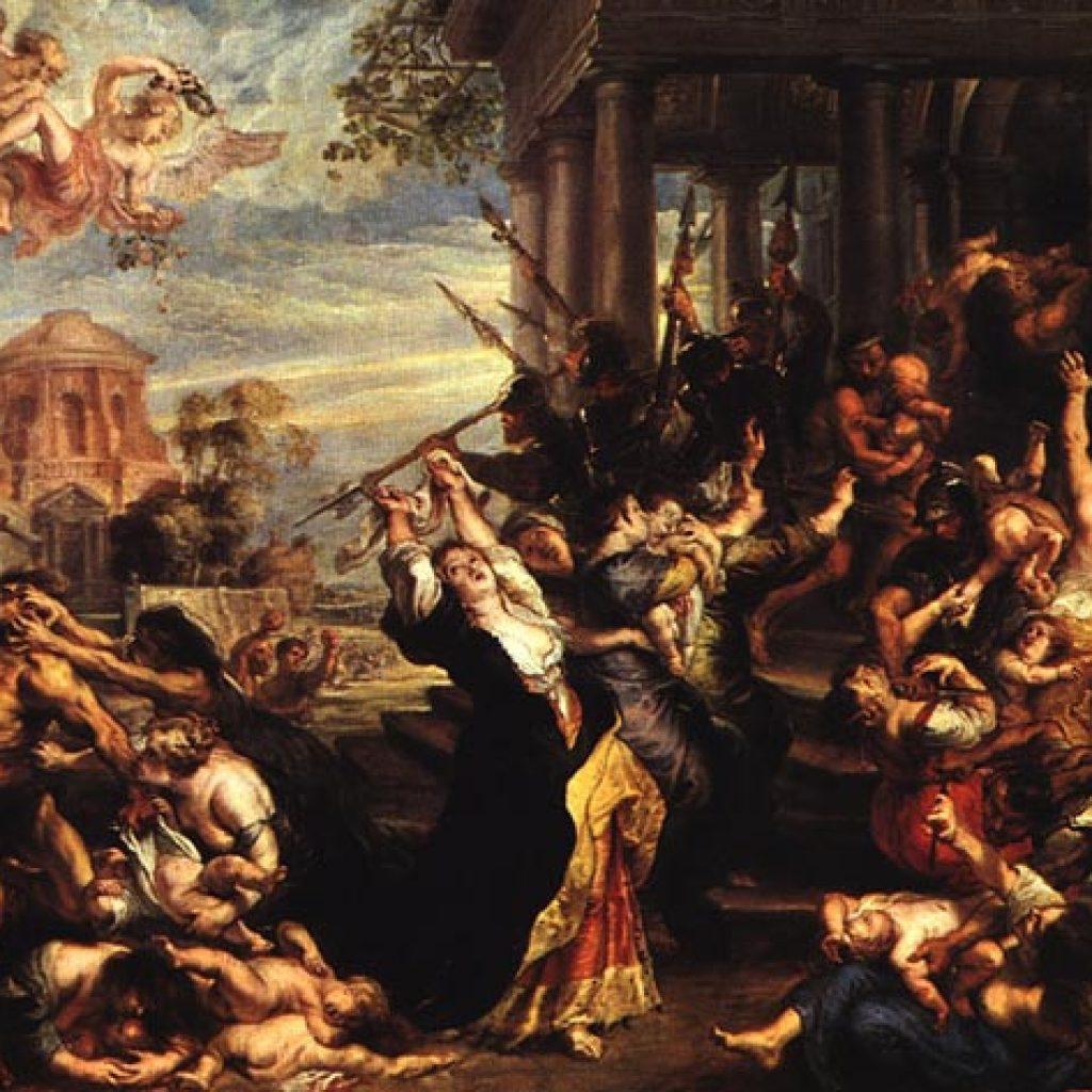 Le massacre des innocents - Rubens