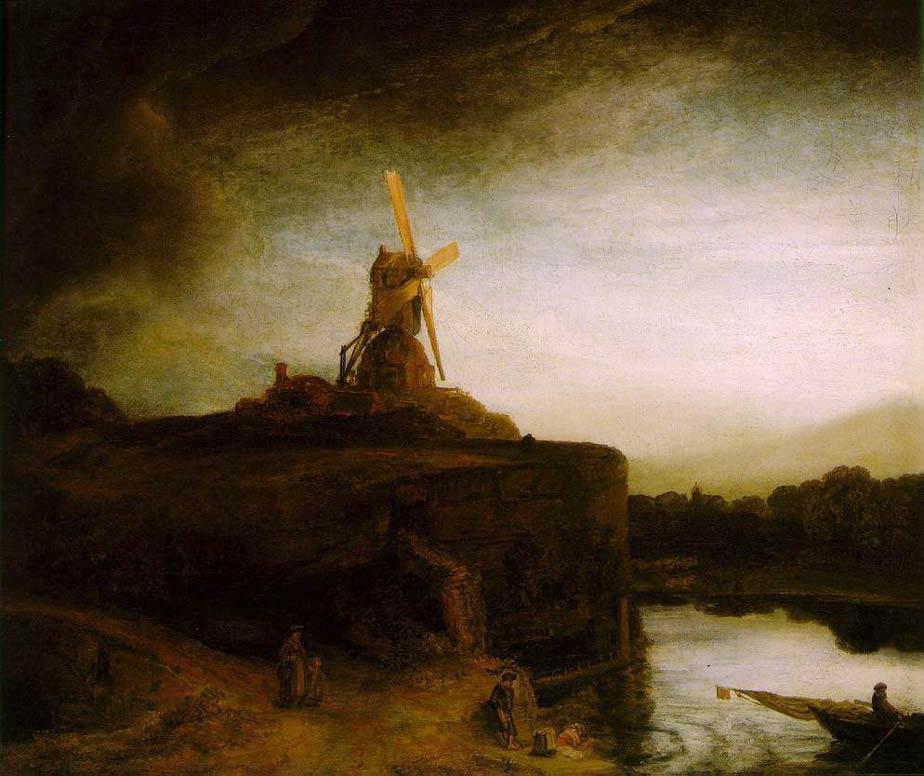 Le moulin - Rembrandt