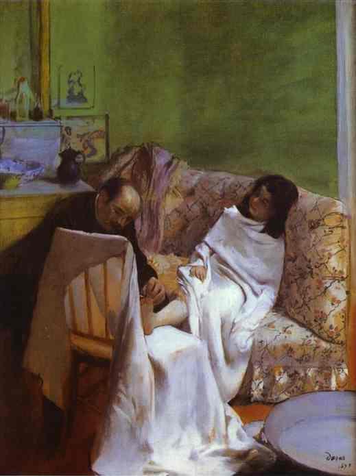 Le pédicure - Degas