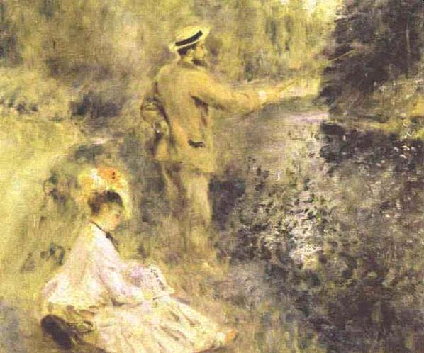 Le pêcheur à la ligne - Renoir