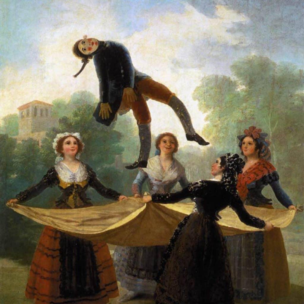 Le pantin - Goya