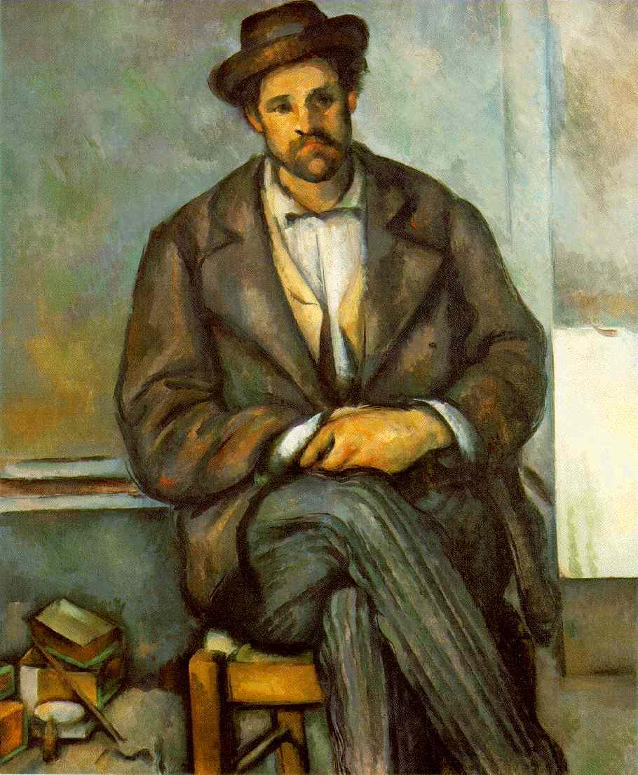 Le paysan assis - Cézanne