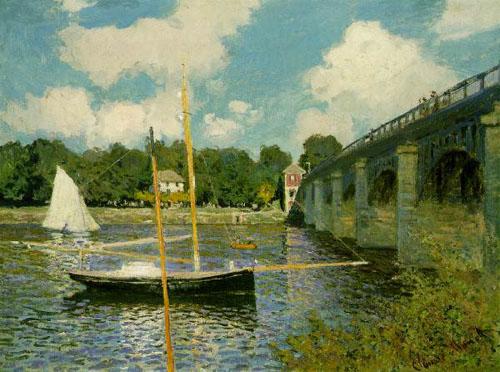 Le pont à Argenteuil - Monet