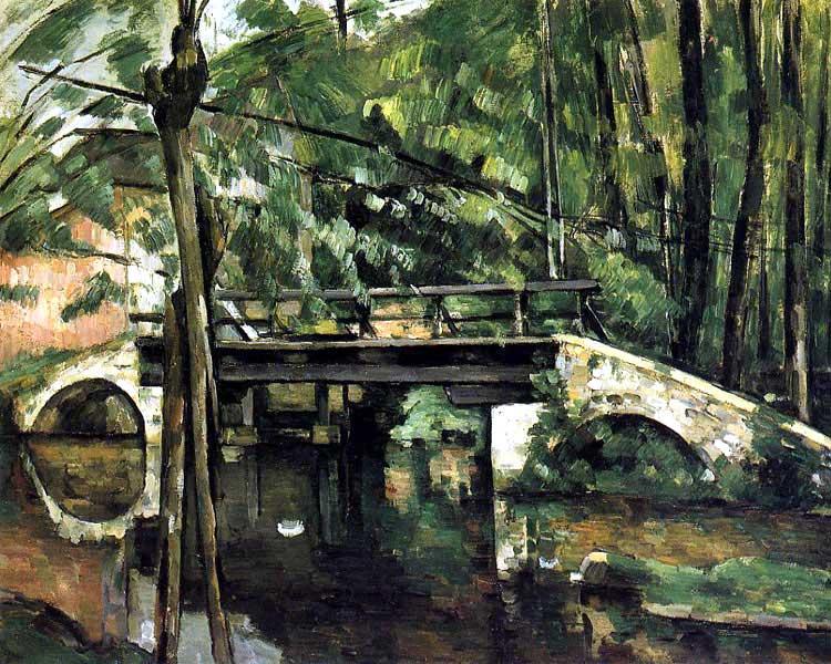 Le pont de Maincy - Cézanne