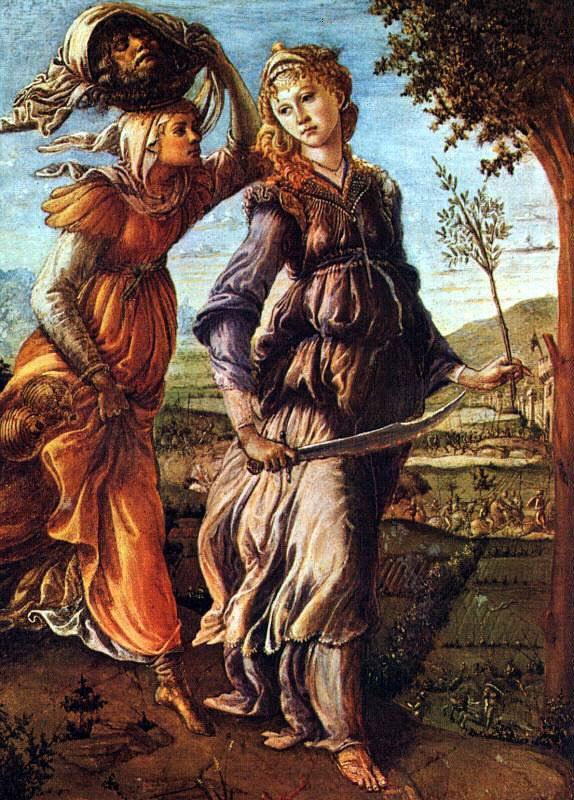 Le retour de Judith - Botticelli