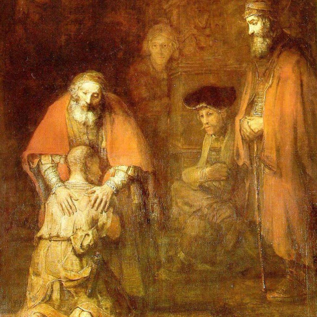 Le retour du fils prodigue - Rembrandt
