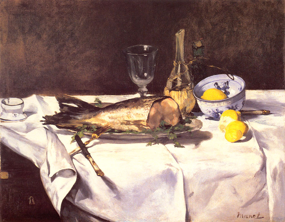 Le saumon - Manet