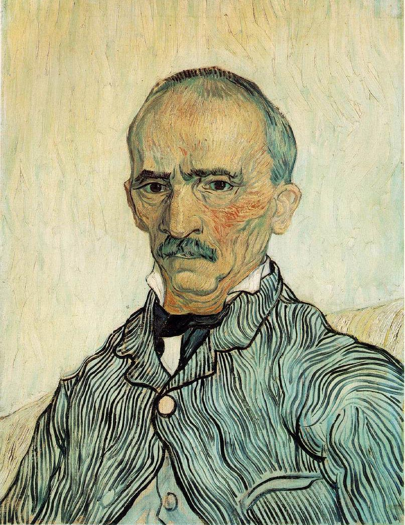 Le surveillant en chef Trabuc de l'Hospice Saint-Paul - Van Gogh