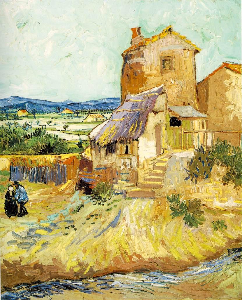 Le vieux moulin - Van Gogh