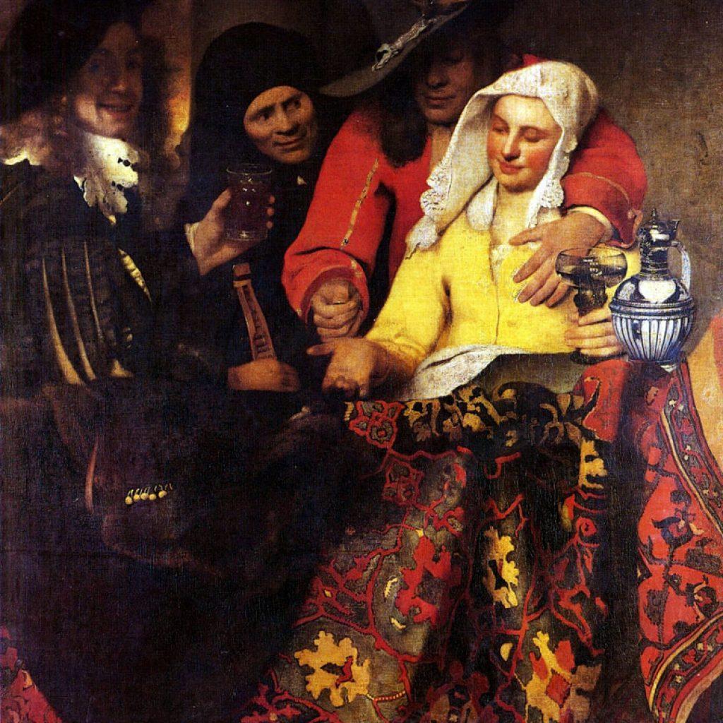 L'entremetteuse - Vermeer