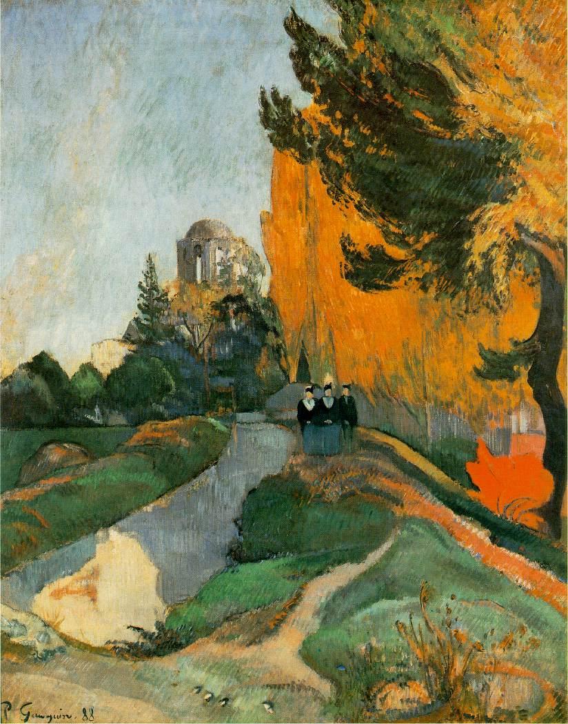 Les Alyscamps - Gauguin