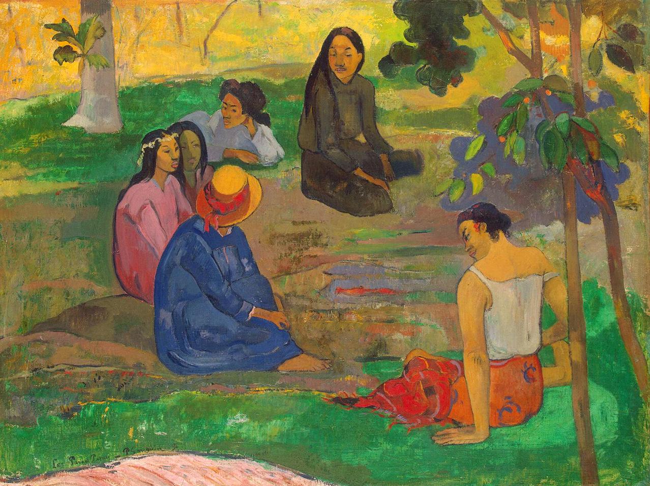 Les Parau Parau - Gauguin