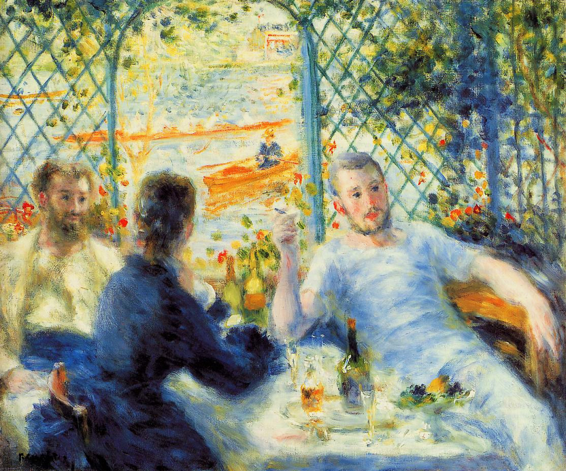 Les canotiers - Renoir
