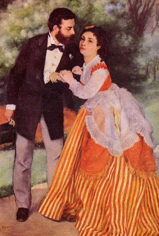 Les fiancés - Renoir