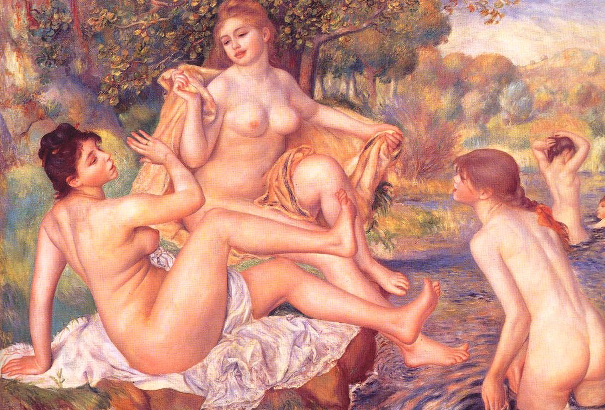 Les grandes baigneuses - Renoir